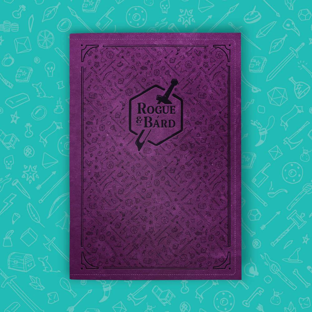 Rogue & Bard Character Journal for DnD 5e