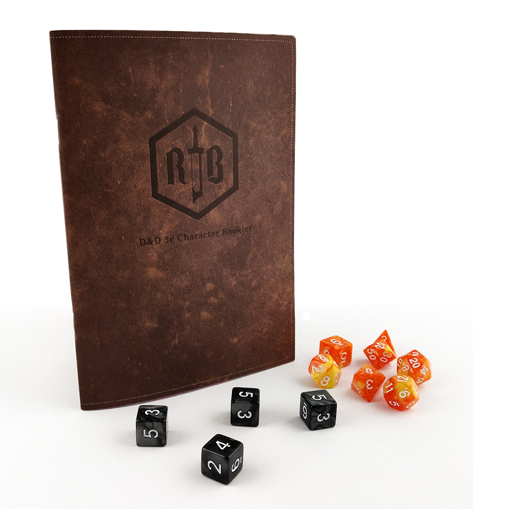 Small A5 D&D 5e Character Booklet