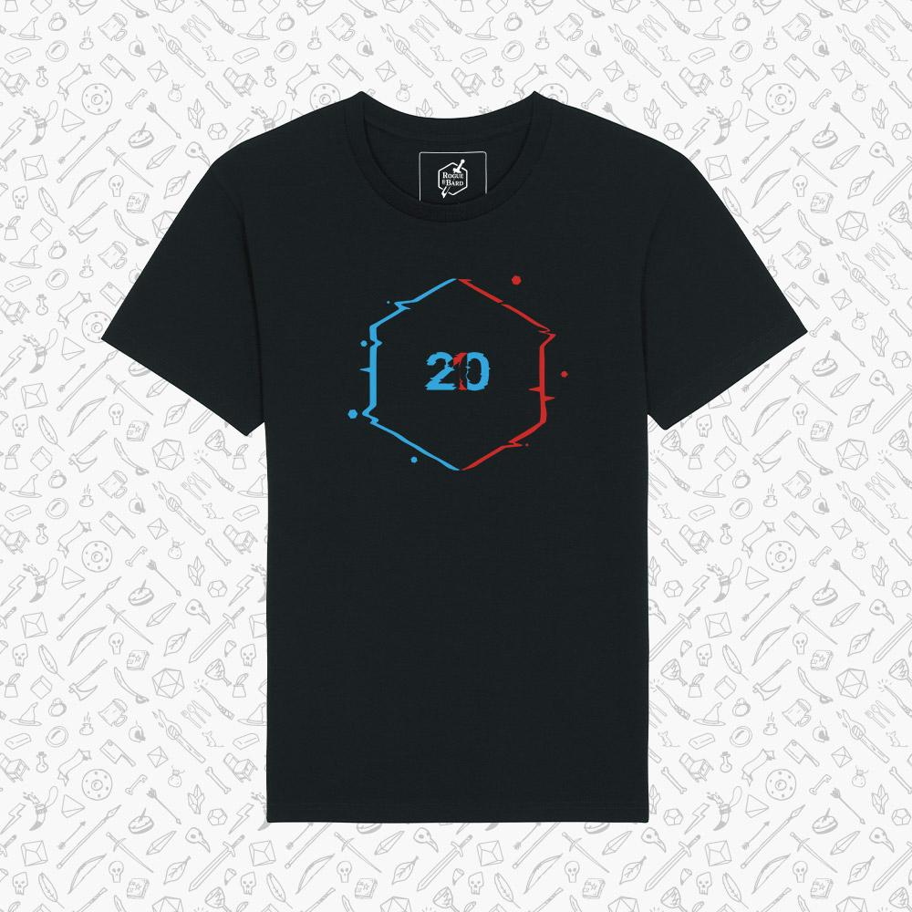 Advantage black t-shirt
