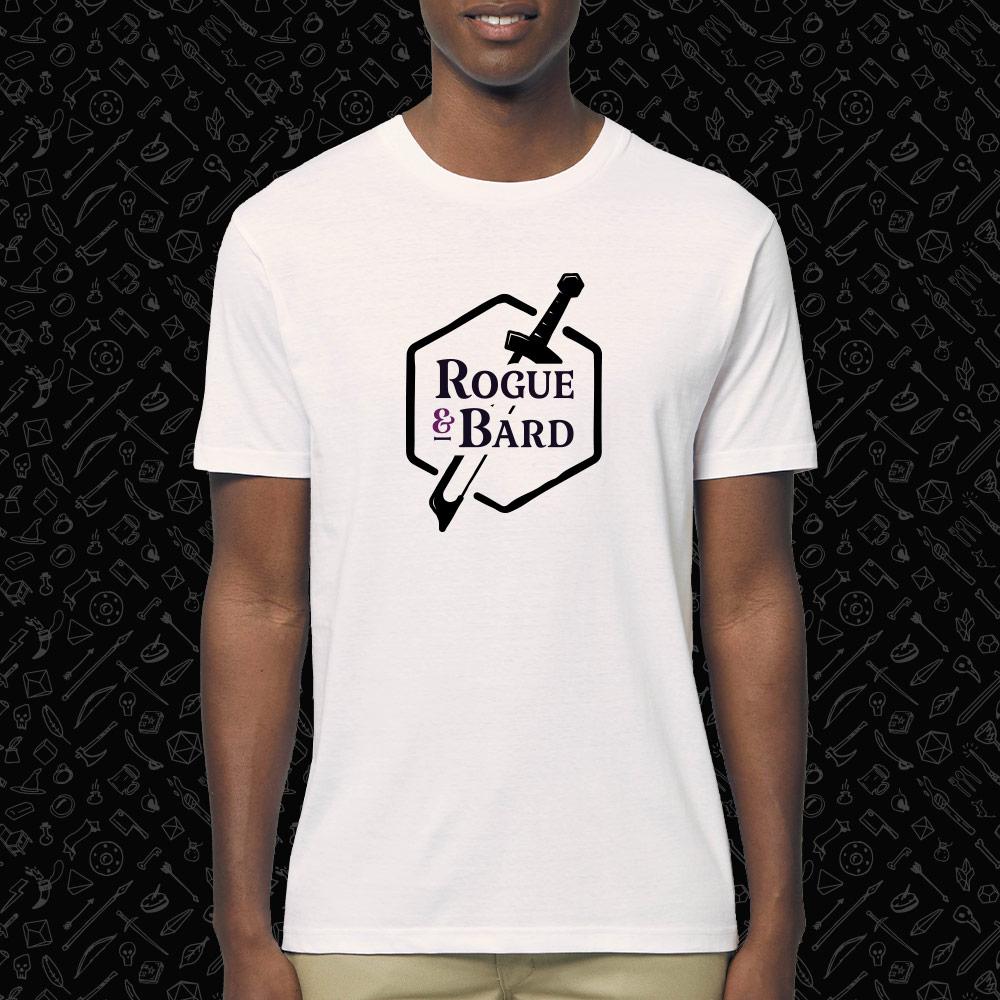 Knife & bow white t-shirt