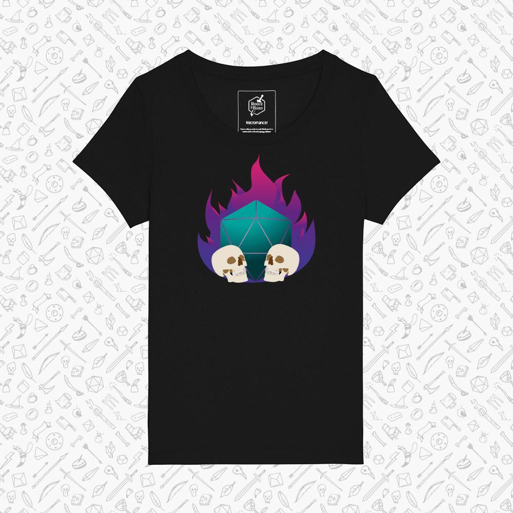 Necromancer black t-shirt